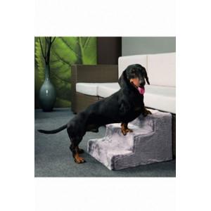 Schody pro psa Easy Step Dog 43x41x29 cm šedé KAR
