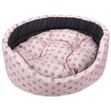 Pelech DOG FANTASY oval piktogram mix růžový 100 cm 1ks
