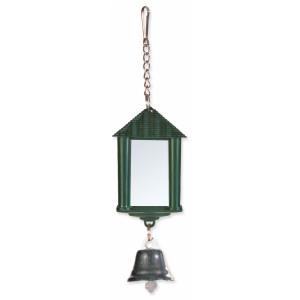 Hračka TRIXIE zrcadlo lucerna se zvonkem a řetízkem 6 cm 1ks