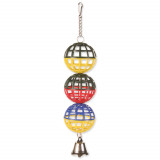 Hračka TRIXIE míčky na řetízku se zvonečkem 16 cm 1ks