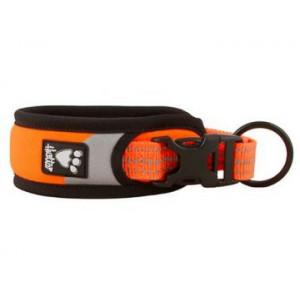 Obojek Hurtta Lifeguard Dazzle 55-65 cm oranžový