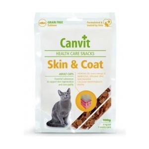 Canvit Cat Health Care Snack Skin & Coat 100 g