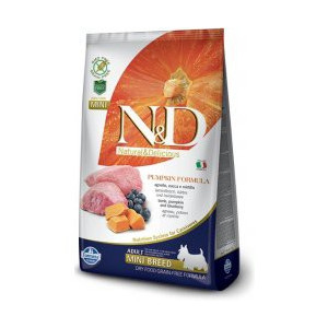 N&D GF Pumpkin DOG Adult Mini Lamb & Blueberry 2,5 kg