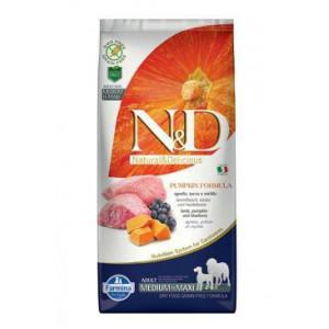 N&D GF Pumpkin DOG Adult M/L Lamb & Blueberry 12 kg (DOPRAVA ZDARMA) + doprava zdarma