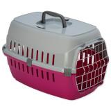 Přepravka DOG FANTASY Carrier červená 48,5 cm 1ks