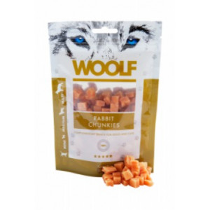 WOOLF pochoutka rabbit chunkies 100 g