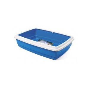 WC Katja Junior s okrajem 38x28x10,5 cm modrá