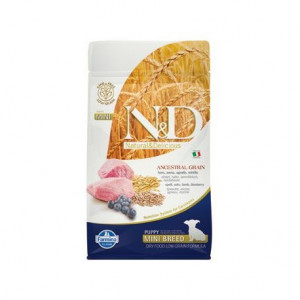 N&D LG DOG Puppy Mini Lamb & Blueberry 800 g