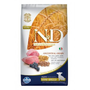N&D LG DOG Puppy Mini Lamb & Blueberry 2,5 kg