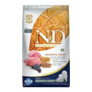 N&D LG DOG Puppy M/L Lamb & Blueberry 2,5 kg