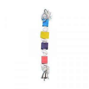 Hračka pro velké papoušky 36 cm