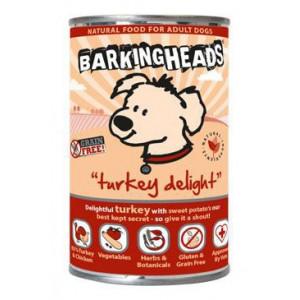 BARKING HEADS Turkey Delight konz. 400 g new