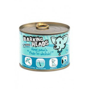 BARKING HEADS Tiny Paws Fish n Delish konz. 200 g