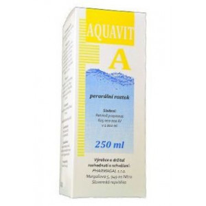 Aquavit A sol 250 ml