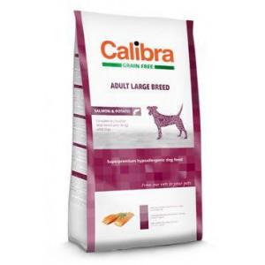 Calibra Dog GF Adult Large Breed Salmon 12 kg