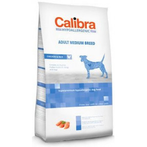 Calibra Dog HA Adult Medium Breed Chicken 14 kg NEW + doprava zdarma