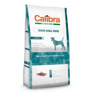 Calibra Dog GF Senior Small Breed Duck 7 kg NEW