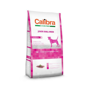 Calibra Dog GF Junior Small Breed Duck 2 kg NEW
