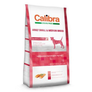 Calibra Dog GF Adult Medium & Small Salmon 2 kg NEW