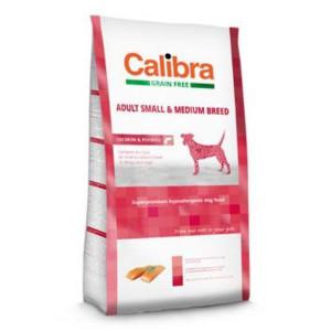 Calibra Dog GF Adult Medium & Small Salmon 2 kg NEW