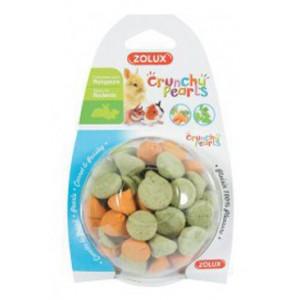 Pochoutka CRUNCHPEARL mrkev/petžel pro hlod 50 g Zolux