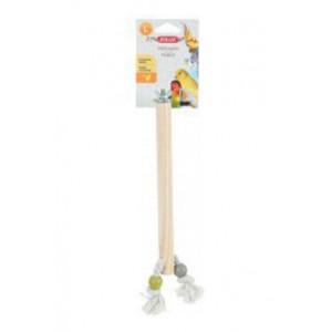 Bidlo pro ptáky dřevěné L 30 cm Zolux
