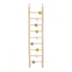 Žebřík pro ptáky dřevěný 9 příček 37,5 cm Zolux
