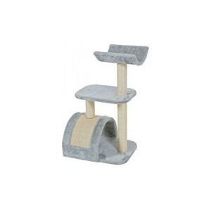 Škrábadlo WAVE cat tree M šedá 82 cm Zolux