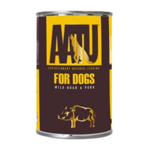 AATU Dog Wild Boar n Pork konz. 400 g