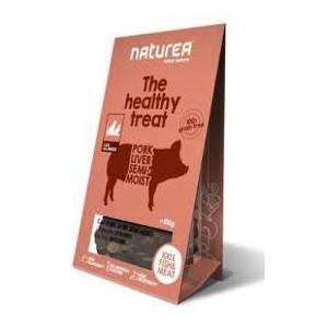 Naturea pamlsky polovlhké kočka vepřová játra 100 g