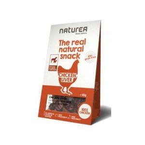 Naturea pamlsky Natural snack pes kuřecí játra 80 g