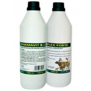 Farmavit B-komplex forte 1000 ml tekutý