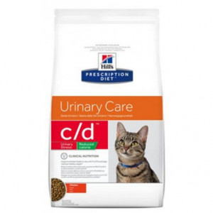 Hills Fel. C/D Dry Urinary Stress Reduced Cal. 1,5 kg