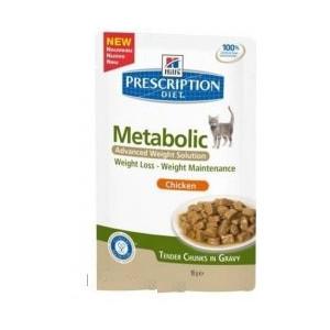 Hills Feline kapsa Adult Metabolic 12x85 g