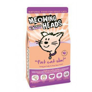 MEOWING HEADS Fat Cat Slim 1.5 kg
