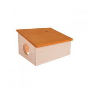 Domek pro hlodavce HUT dřevěná S Zolux