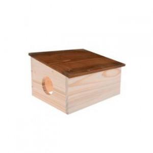 Domek pro hlodavce HUT dřevěná M Zolux
