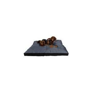 Matrace nylon Boseň tm.šedá s tlapou 90 x 60 x 12 cm