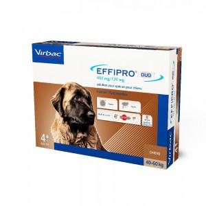 Effipro DUO Dog XL (40-60kg) 402/120 mg, 4x4,02 ml